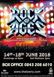 Rock Of Ages at The Lowry Theatre